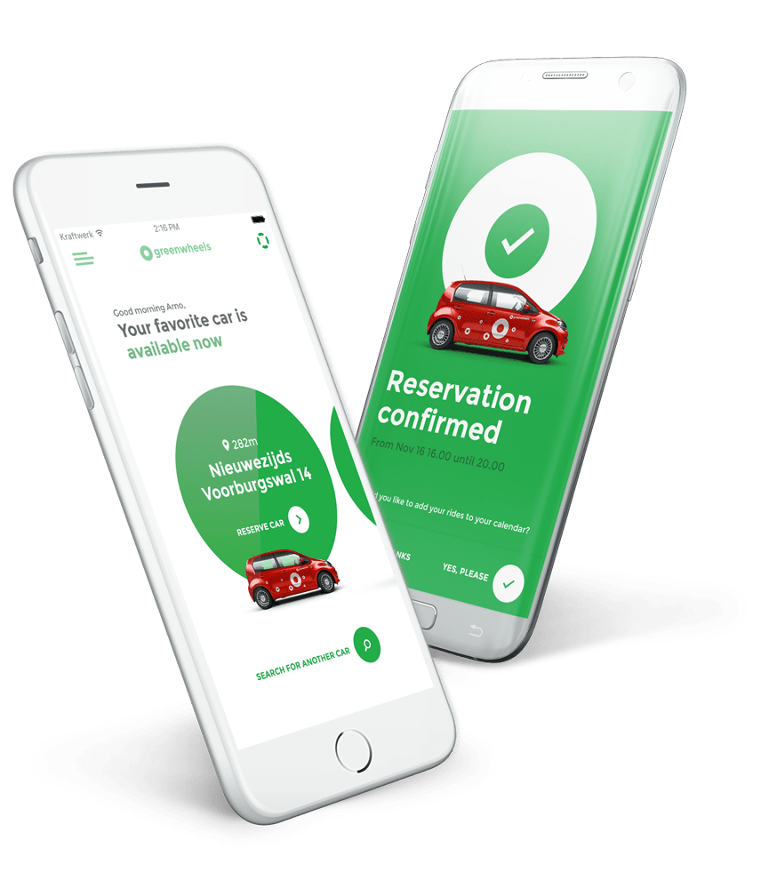 Greenwheels app download English